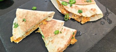 Chicken and Sweet Potato Quesadillas