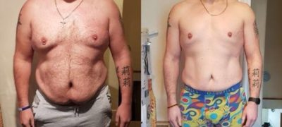 Mark's Incredible Transformation. 3 Stone Shredded!
