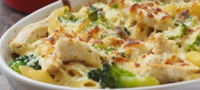 Chicken and Broccoli Pasta Bake