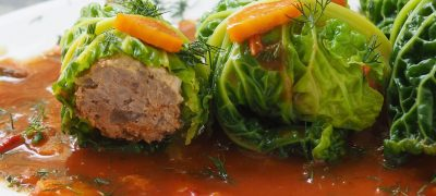 Polish Stuffed Cabbage Rolls Recipe