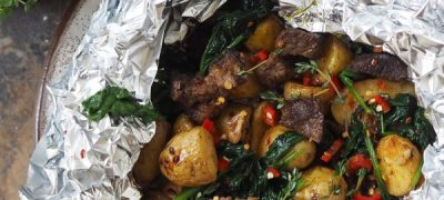 STEAK AND BABY POTATOES RECIPE